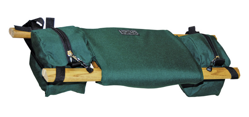 Zoom  sc 1 st  Boundary Waters Catalog & Bench Seat With Saddle Bags By Ccs Canoe Seat u0026 Organizer ...