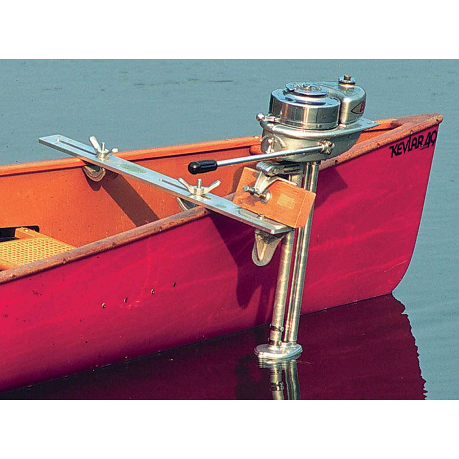 Boundary Waters Catalog Canoe Motor Mount