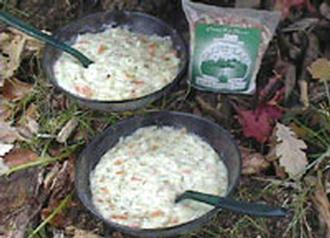 Creamy Fish Chowder 2serve