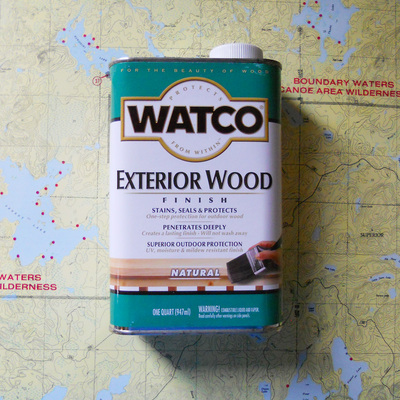 Watco Exterior Finish