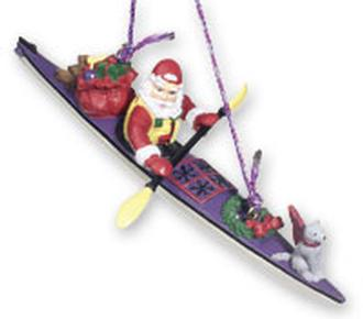 Santa Kayaking W/Gifts
