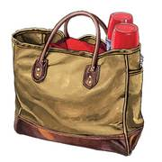 Lake Michigan Tote Premium Large