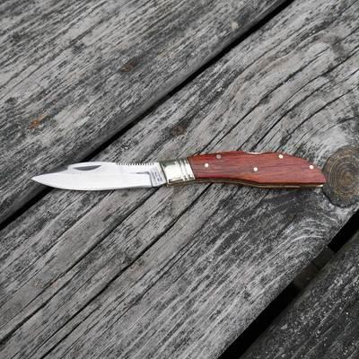 Mini Rosewood Lockblade Knife