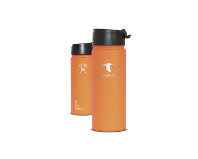 Wide Mouth Water Bottle 18 Oz With Flip Lid
