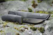 Mora BushCraft Carbon Steel Black Knife