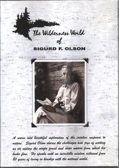 Wilderness World Of Sigurd Olson Dvd