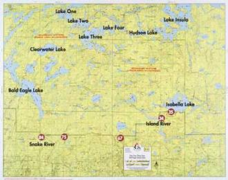 Fisher Maps F04 Lake One