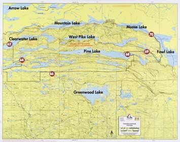 Boundary Waters Catalog Fisher Maps F14 Clearwatr