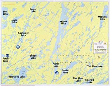 Boundary Waters Catalog Fisher Maps F18 Kahshahpi