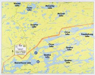 Fisher Maps F28 Beaver- House