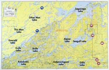 Boundary Waters Catalog Fisher Maps F32 Special