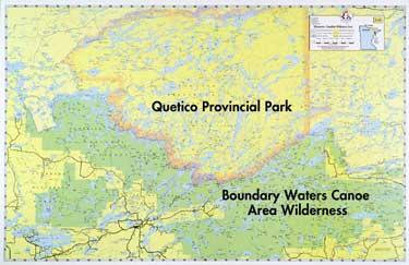 E15 Bwca & Quetico Overview Map | Boundary Waters Catalog
