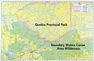 E15 Bwca & Quetico Overview Map