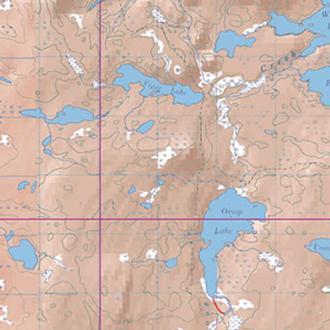 Mckenzie Maps M30 Red