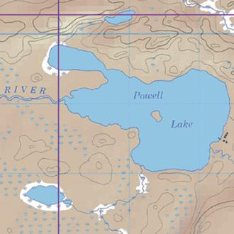 Mckenzie Maps M38 Powell,