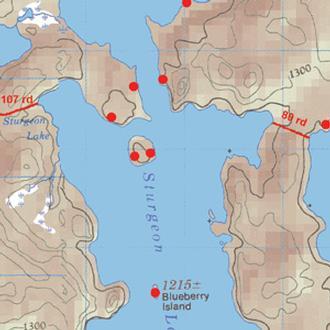 Mckenzie Maps M43 Russell