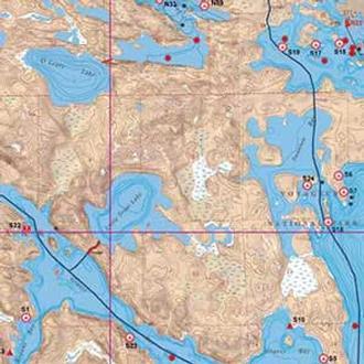 Mckenzie Maps N1 Voyageur