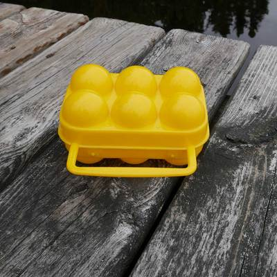 Plastic 6 Egg Holder