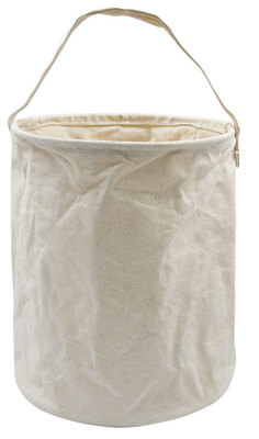 White Canvas Water Bucket