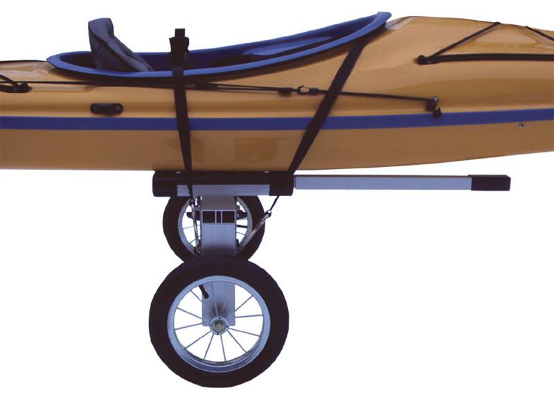 Canoe And Kayak Cart 12 Inch Wheels Portage Carts