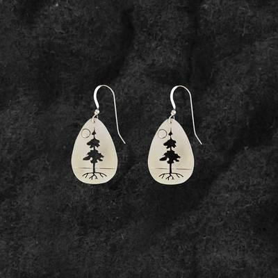 Tree Of Life Teardrop Earrings
