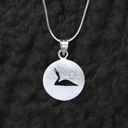 Loon Song Pendant on Silver Chain
