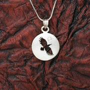 Raven Shadow Pendant