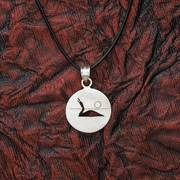 Loon Song Pendant on Cord