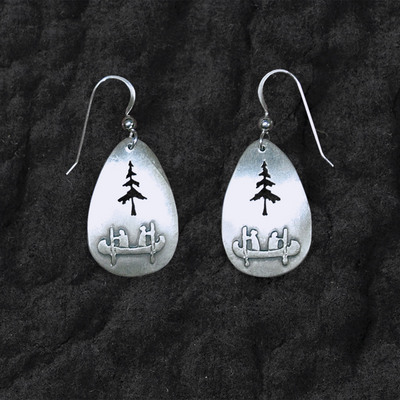 Canoe Tree Earrings