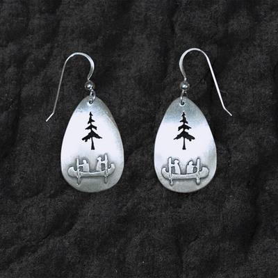 Canoe Tree Earrings