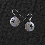 HUMMINGBIRD SHADOW EARRINGS
