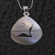 Triangle Loon Pendant