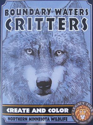 Boundary Waters Critters Coloring Book
