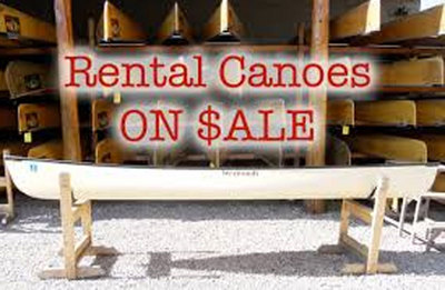 Rental Used Canoes- Please Contact For Prices