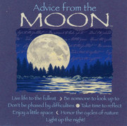 Advice from a Moon MAGNET