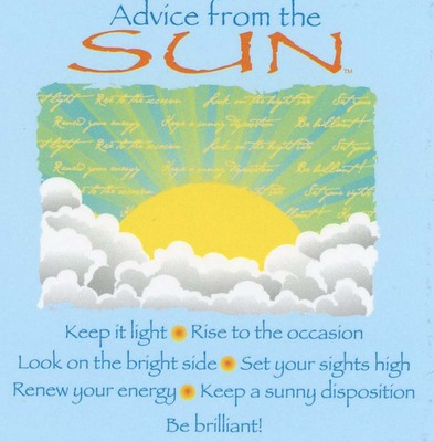 Advice From The Sun Magnet