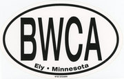 BWCA Ely,MN Large Oval Sticker