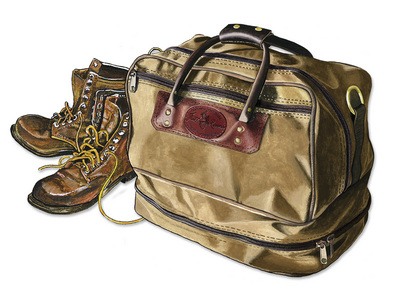Frost River Prairie Boot Bag