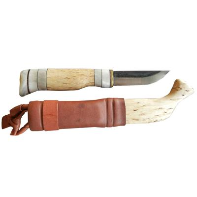 Kellam Tundra Puukko With Wood And Leather Sheath