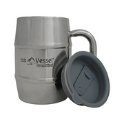 Eco Vessel Double Barrel Stainless Steel Mug