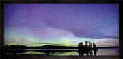 Glitter Toss, Framed Print