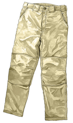 Piragis Nylon Wet Leg Canoe Pant