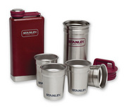 Stanley Adventure Stainless Steel Flask and Shots Gift Set