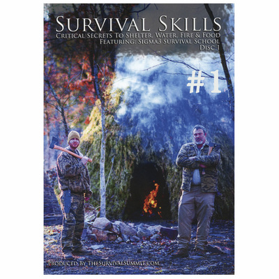 Survival Skills Dvd Set Of 2
