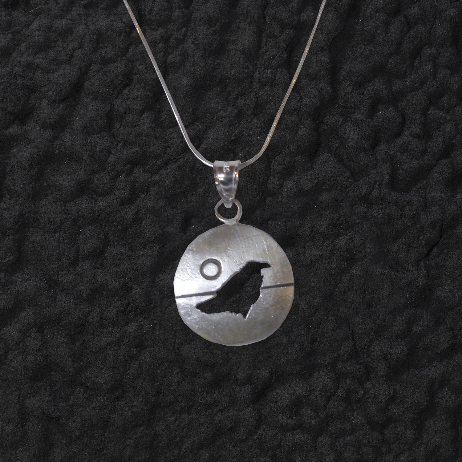 Raven pendant by lineage design boundary waters piragis raven pendant item sa205 aloadofball Choice Image