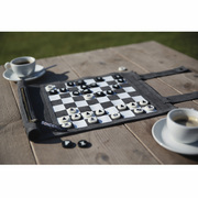 Roll-Up Travel Game Chess and Checkers