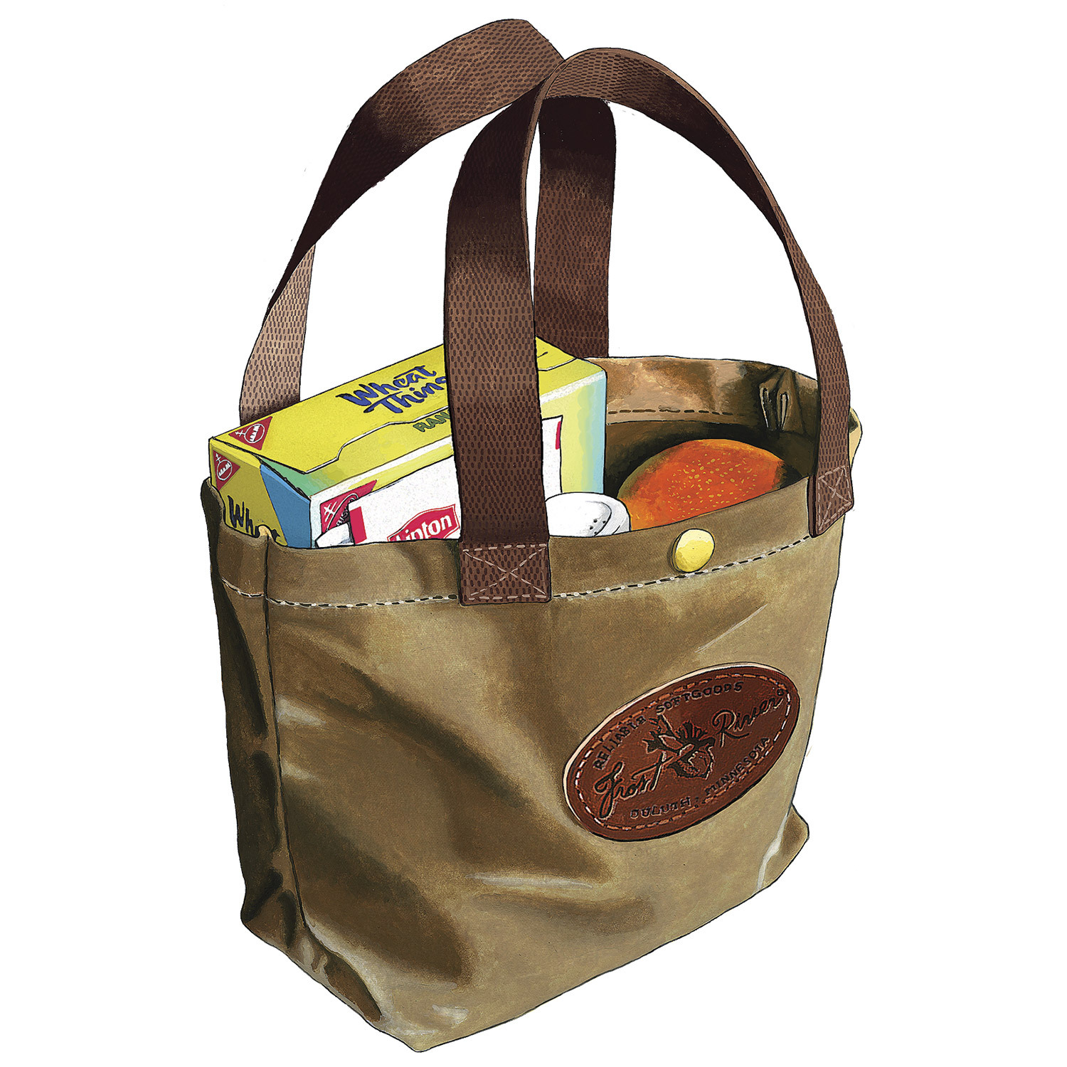Frost River Lunch Tote Boundary Waters Catalog