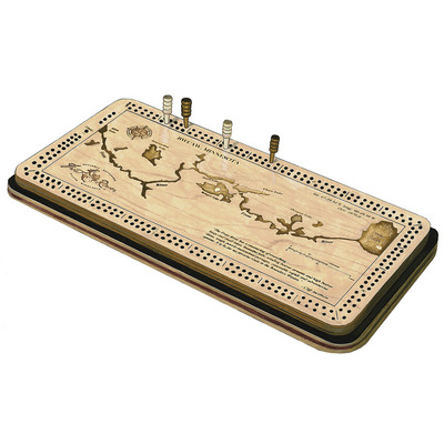 Frost River Cribbage Board