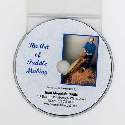 The Art Of Paddle Making Dvd