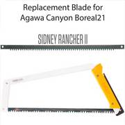 Agawa Canyon Sidney Rancher Saw Blade 21in